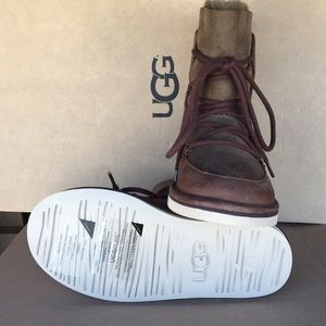 d79b82ca591 ❤️New Ugg Lodge Chocolate Laced up boots 😍SALE😍 NWT